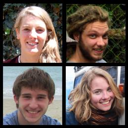 Mieke Dale-Harris, Adam Nelson, Allan Spessoto and Carolynn Look