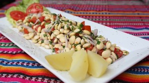Tarwi beans contain more protein than some types of meat, and are rich in oil. Photo credit: http://calendariosaboresbolivia.com.